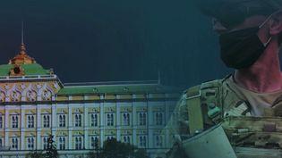 Il y a quelques semaines, face au retrait progressif des troupes françaises, le Mali a annoncé par la voix de son Premier ministre explorer d'autres voies pour sa sécurité. L'option d'un groupe paramilitaire est alors apparue, le Wagner, qui a déjà fait parler de lui en Ukraine, en Syrie et en Libye. (Capture d'écran France 2)