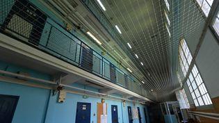 Un quartier de la prison pour femmes de Rennes (Ille-et-Vilaine), le 29 juillet 2021. (JEAN-FRANCOIS MONIER / AFP)