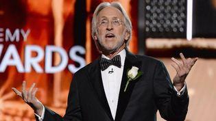 Neil Portnow, le président de la Recording Academy, aux Grammy Awards 2018  (Michael Kovac / GETTY IMAGES NORTH AMERICA / AFP)