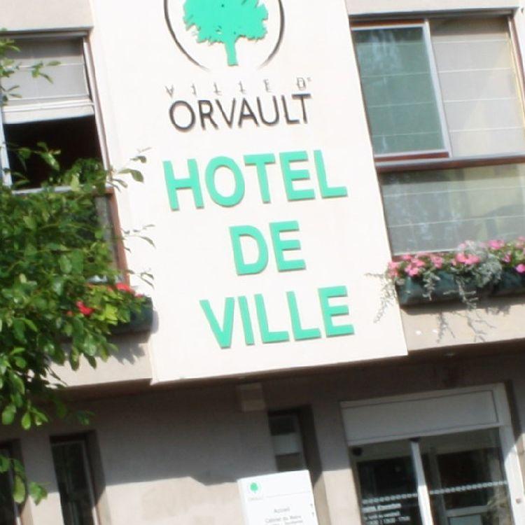 L'hôtel de ville d'Orvault (Loire-Atlantique). (VILLE D'ORVAULT / FRANCEINFO)