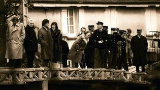 Le 16 octobre 1984, le corps du petit Grégory est découvert dans la Vologne, àLépanges-sur-Vologne (Vosges). (MAXPPP)