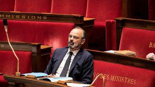 Le Premier ministre, Edouard Philippe, lors des questions au gouvernement à l'Assemblée nationale, à Paris, le 5 mai 2020. (ROMAIN GAILLARD / POOL / AFP)