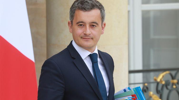 Gerald Darmanin, ministre français de l'Intérieur, au Palais de l'Elysée à Paris, le 15 juillet 2020 (photo d'illustration). (LUDOVIC MARIN / AFP)
