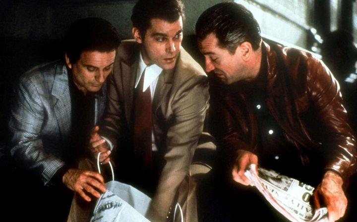 Joe Pesci, Ray Liotta et Robert De Niro dansLes Affranchis(1990) de Martin Scorsese  (WARNER BROS / Collection ChristopheL)