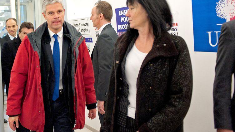 Le député de Haute-Loire, et ancien ministre UMP, Laurent Wauquiez, le 19 novembre 2013 au siège de l'UMP à Paris. (MEUNIER AURELIEN / SIPA)