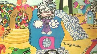 L'une des oeuvres de Niki de Saint Phalle à découvrir à Mons  (France 3 / culturebox / capture d'écran)