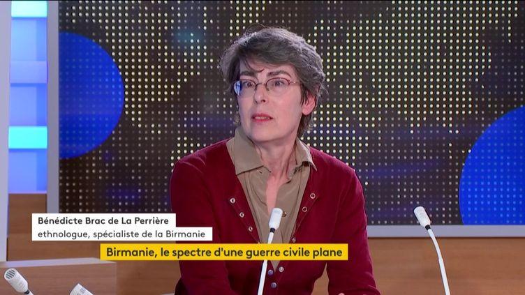 Bénédicte Brac de La Perrière. (franceinfo)