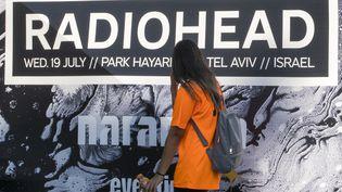 Le concert de Radiohead prévu mercredi 19 juillet à Tel Aviv oppose partisans et opposants du boycott culturel en Israël. (JACK GUEZ / AFP)