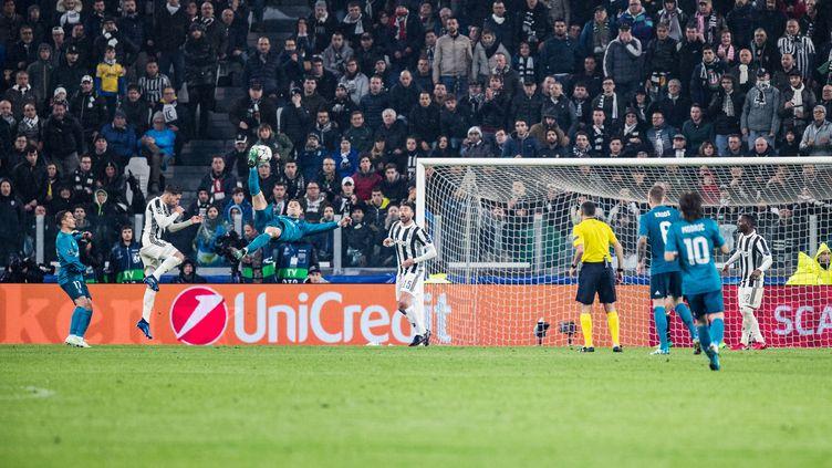 Cristiano Ronaldo dans ses oeuvres (ALESSIO MORGESE / DPPI MEDIA)