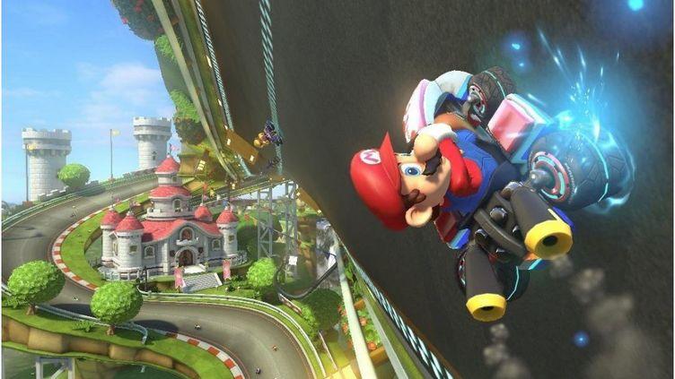 Mario Kart 8, sur console Switch. (NINTENDO)