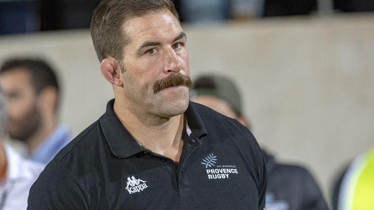 L'ancien rugbyman, Jamie Cudmore est devenu manager du club de Provence Rugby (ProD2). (SPEICH FREDERIC / MAXPPP)