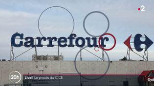 CICE : le groupe Carrefour a perçu 755 millions d'euros et créé 259 emplois (FRANCE 2 / FRANCETV INFO)