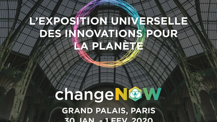 L'affiche de la troisième édition de ce sommet international pour des solutions durables pour la planète. (CHANGE NOW SUMMIT)