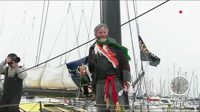 Voile : un Irlandais met un an et demi pour boucler le Vendée Globe
