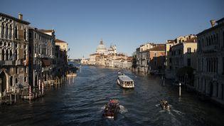 Venise, le Grand canal, le 20 mai 2021 (MARCO BERTORELLO / AFP)