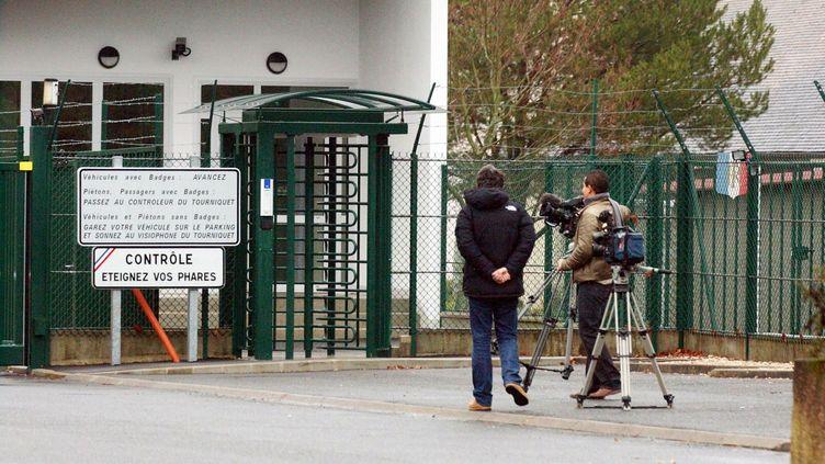 L'entrée de la base de Cercottes, dans le Loiret. (MAXPPP)
