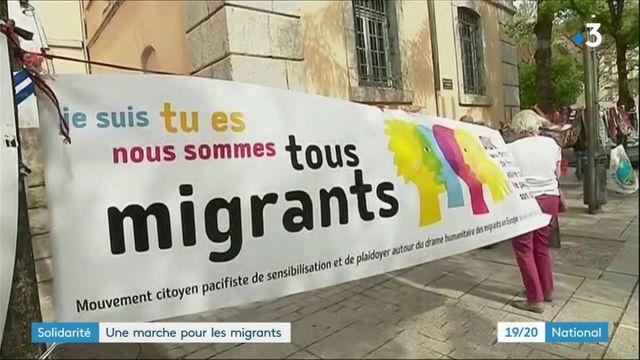 Solidarité : une marche pour les migrants sous haute tension