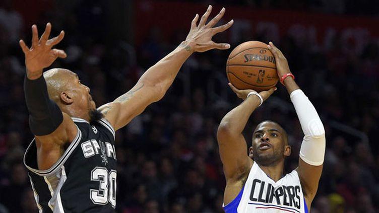 Chris Paul prend le meilleur sur David West et les Clippers ont battu les Spurs