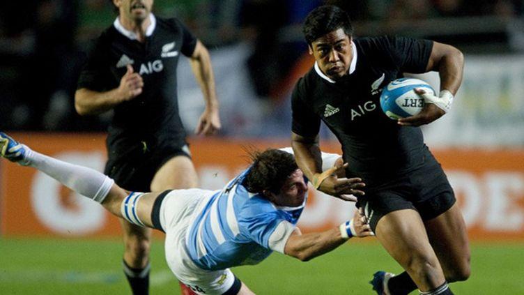 Julian Savea (Nouvelle Zélande) (ALEJANDRO PAGNI / AFP)