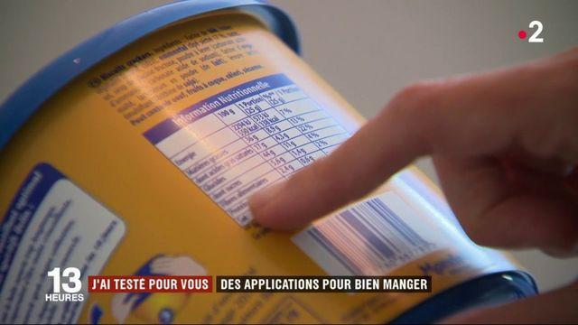 Alimentation : des applications mobiles pour bien manger