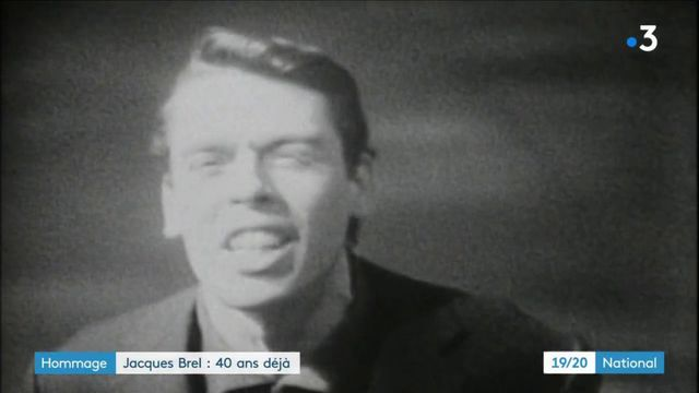 Musique : il y a 40 ans, Jacques Brel nous quittait