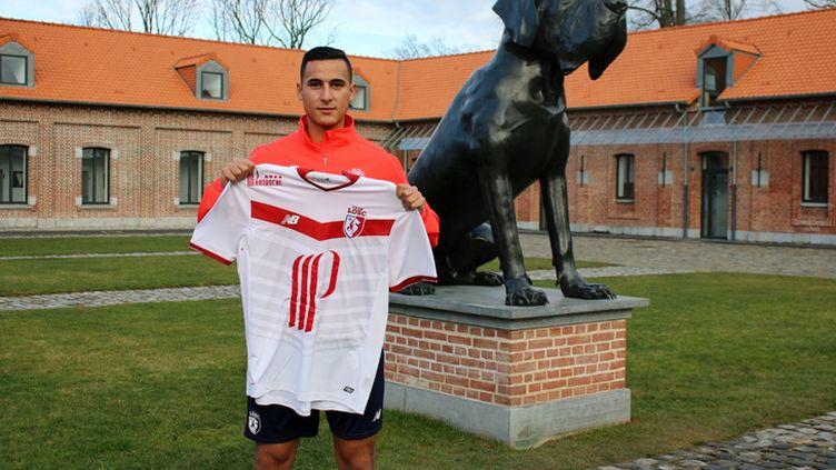 Le joueur de Lille, Anwar El Ghazi