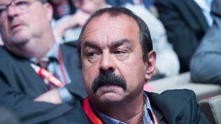 Le secrétaire général de la CGT, Philippe Martinez, à Paris le 29 septembre 2015. (FRANCOIS PAULETTO / AFP)