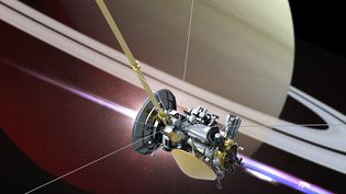 La sonde Cassini. (VICTOR HABBICK VISIONS / SCIENCE PHOTO LIBRARY)