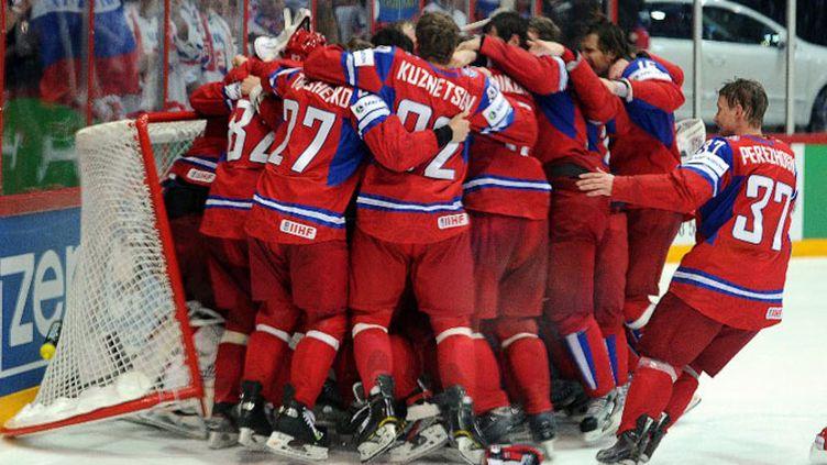 La Russie peut exulter, elle championne du Monde de Hockey