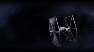 """Un Tie Fighter de l'Empire dans """"La Guerre des étoiles / Star Wars, Episode IV - Un nouvel espoir"""" de George Lucas (1977). (LUCASFILM)"""