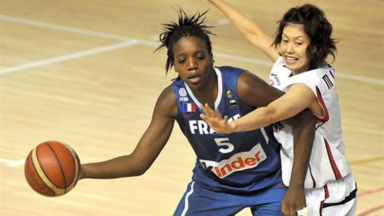 La Française Jennifer Digbeu (PHILIPPE HUGUEN / AFP)