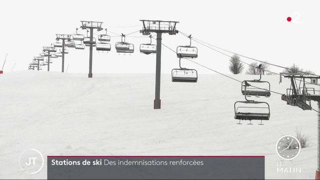 Covid-19: des indemnisations renforcées pour les stations de ski