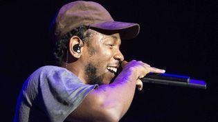 Kendrick Lamar le 13 septembre 2014 à Atlanta.  (Katie Darby/AP/SIPA)