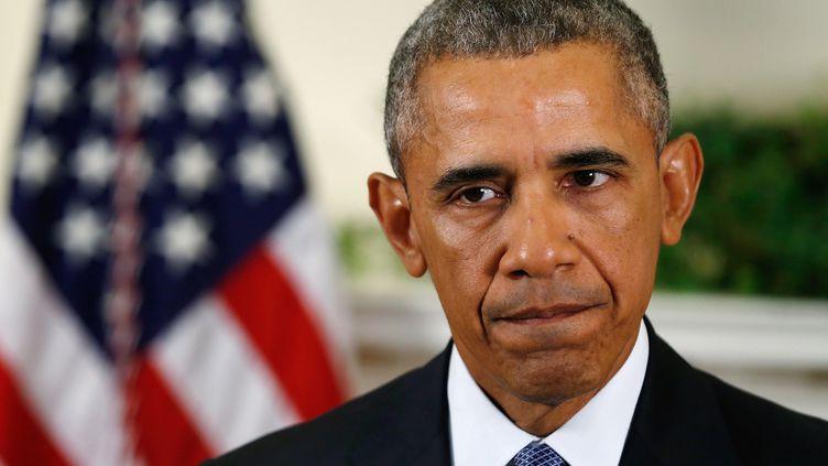 Barack Obama, à la Maison Blanche, le 15 octobre 2015. (JONATHAN ERNST / REUTERS)