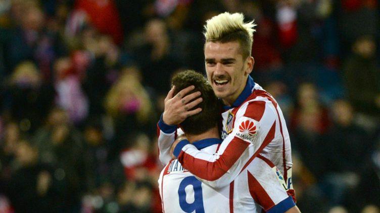 Antoine Griezmann a signé un doublé lors de la large victoire de l'Atlético Madrid face à Almeria (3-0).