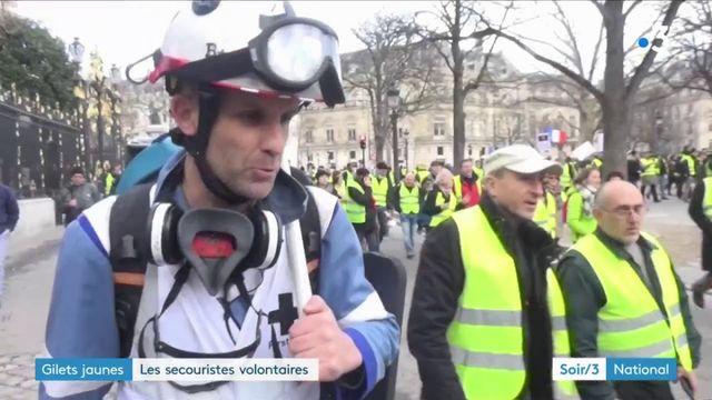 « Gilets jaunes » : les secouristes volontaires