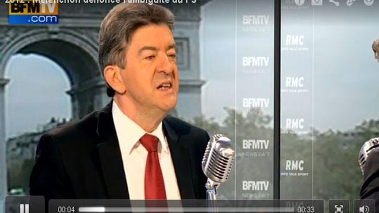 Jean-Luc Mélenchon sur BFM TV (BFM)