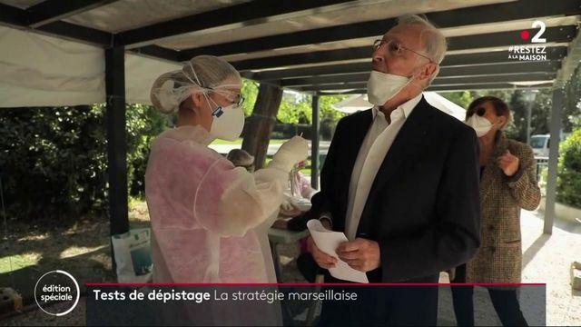 Coronavirus: faciliter l'accès aux tests dans les quartiers nords de Marseille