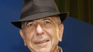 Leonard Cohen, en Espagne en octobre 2011.  (J.L. CEREIJIDO/EFE/MAXPPP )