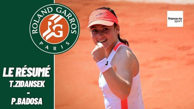 Les meilleurs moments du match Tamara Zidansek - Paula Badosa