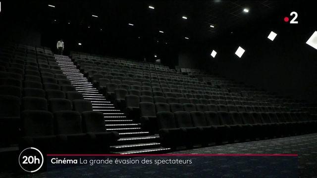 Cinéma : les salles désertées depuis l'entrée en vigueur du pass sanitaire