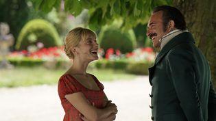 """Mélanie Laurent et Jean Dujardin, héros du film """"Le retour du héros"""". (Christophe Brachet - JD Prod - Les Films sur Mesure)"""