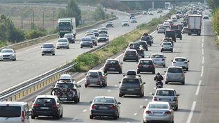 Une autoroute près de Toulouse, le 4 août 2018. (REMY GABALDA / AFP)