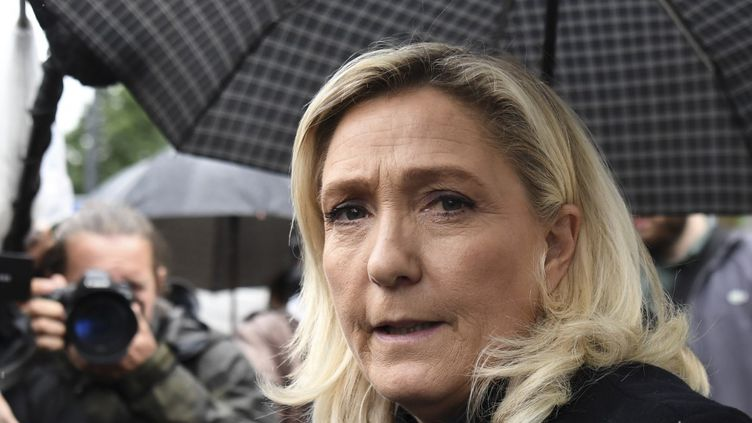 Marine Le Pen, le 12 juin 2020, à Paris. (ALAIN JOCARD / AFP)