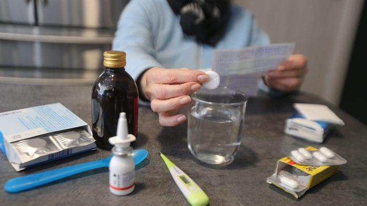 La grippe touche maintenant toutes les régions de la France métropolitaine, selon Santé publique France dans son bulletin du 30 janvier 2019. (MAXPPP)