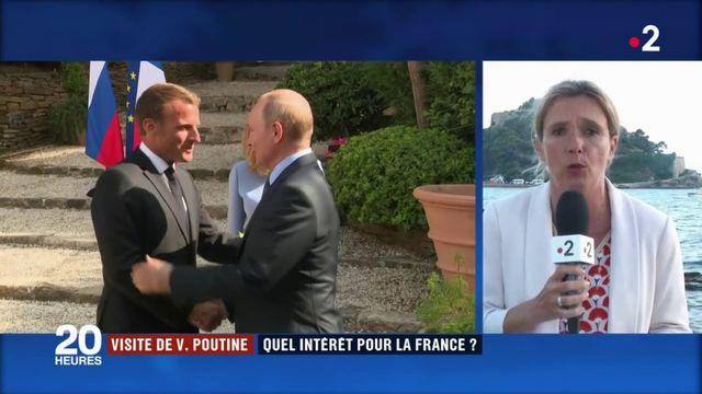 Visite de Vladimir Poutine : quel intérêt pour la France ?