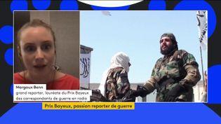 """Prix Bayeux : """"L'Afghanistan, ce pays que j'aime profondément"""", réagit Margaux Benn, lauréate en radio (FRANCEINFO)"""