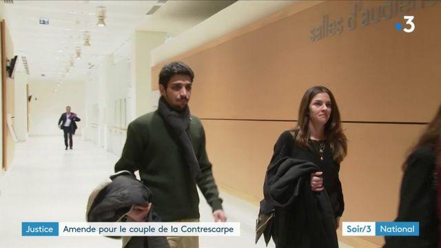 Justice : amende pour le couple de la Contrescarpe