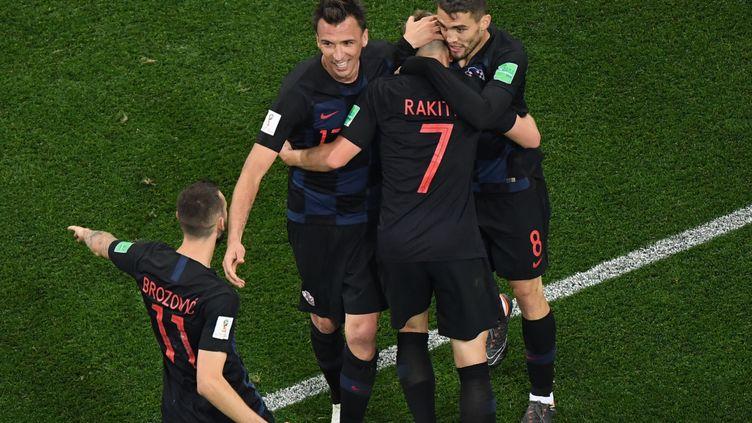 La Croatie est qualifiée pour la finale. (KIRILL KUDRYAVTSEV / AFP)