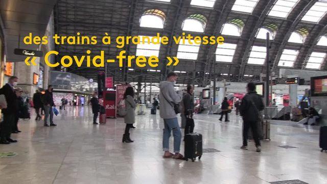 """Italie : des trains à grande vitesse """"Covid-free"""" sont expérimentés dans le pays"""